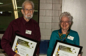 Joyce and Allan Reddoch receive COC award