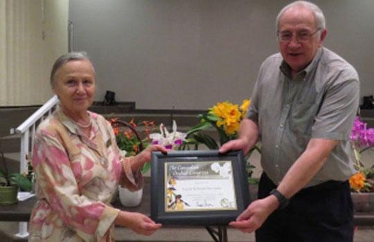 Ingrid Ostrander receives COC award