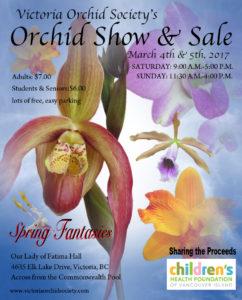 Victoria Orchid Society Show & Sale @ Our Lady of Fatima  | Victoria | British Columbia | Canada