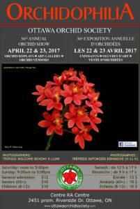 Ottawa Orchid Society Show & Sale @ The RA Centre | Ottawa | Ontario | Canada