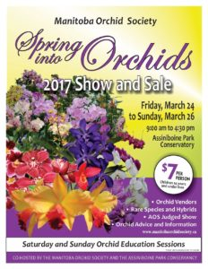 Manitoba Orchid Society Show & Sale @ Assiniboine Conservatory | Winnipeg | Manitoba | Canada