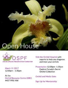 OSPF Open House @ Orchid Resource Centre | Edmonton | Alberta | Canada