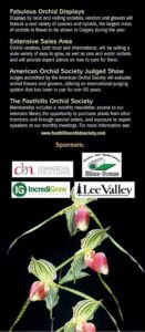 Calgary Orchid Show - Orchids for Everyone @ Triwood Community Center | Calgary | Alberta | Canada