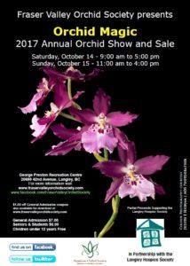 Frazer Valley Orchid Society Show & Sale @ George Preston Recreation Center | Langley | British Columbia | Canada