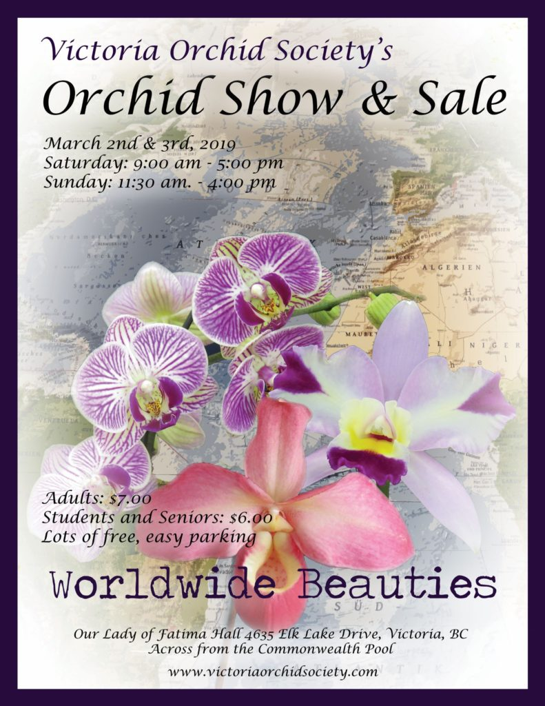 Victoria Orchid Society 2019 Show & Sale @ Our Lady of Fatima Hall
